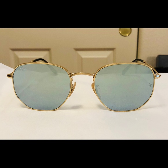 caa301fa8ad New Ray-Ban Hexagonal Flat Lenses Sunglasses 3548N.  M 5b6731a68869f788c53b5639. Other Accessories ...